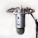 what is microphone shock-mount-for-the-blue-yeti-microphone - microphone stand accessory