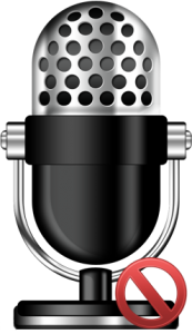 microphone-muted - best microphone for YouTube