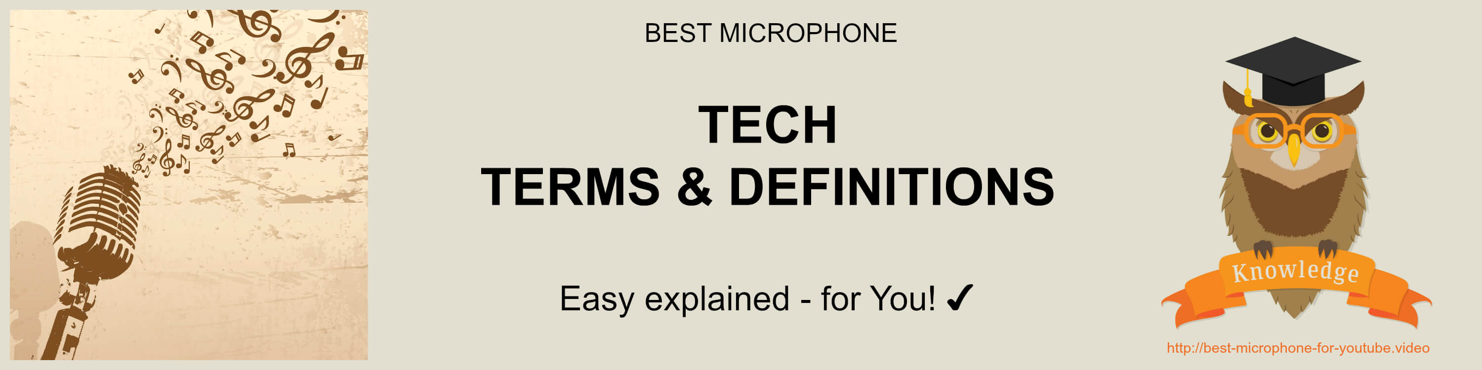 what is microphone? tech-terms-definitions-best-microphone-for-youtube